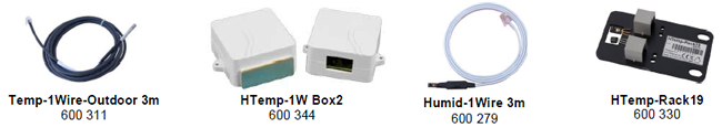 Dispositivo HWg-STE - Acessórios